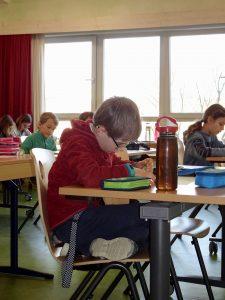 Schüler beim Rechnen